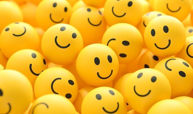 세계 미소의 날 이모티콘 배열