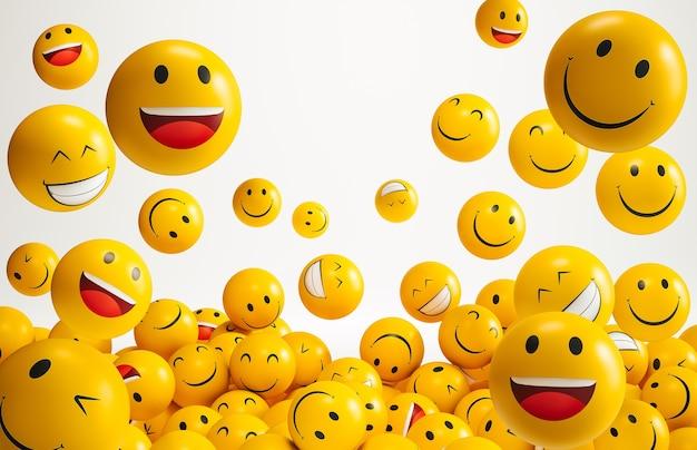Emoji per la giornata mondiale del sorriso