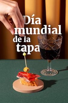 Composizione della giornata mondiale delle tapas
