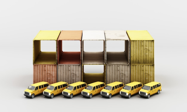 World wide cargo container transport