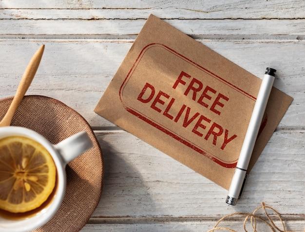 전세계 배송 배송 익스프레스 grpahic 개념