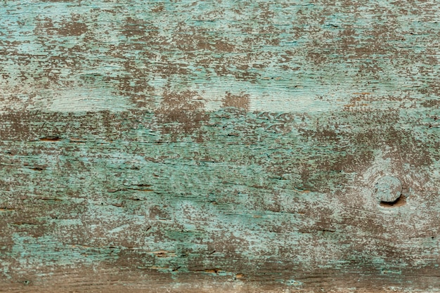 Worn wooden surface with paint