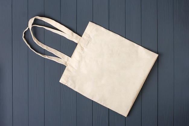 Woven bag flat lay