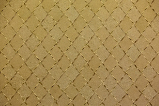 Woven golden leather