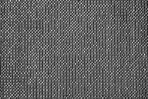 Woven gray textile background