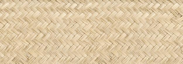 Тканые легкие бамбуковые циновки текстуры фона