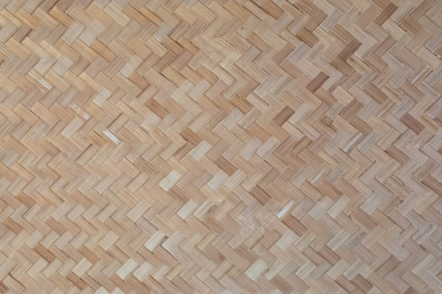 Woven wooden basketwork