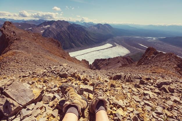 Wrangell-st. 엘리어스 국립공원 및 보호구역, 알래스카.