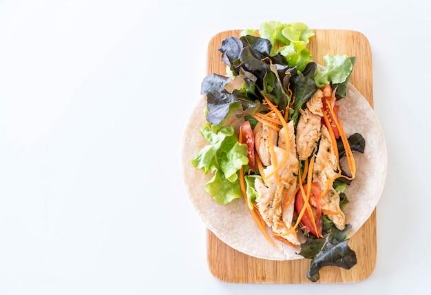 Wrap salad roll