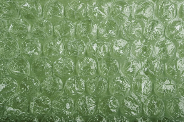 Wrapping plastic bubbles texture