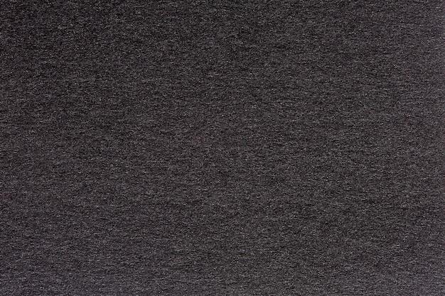 주름진 검은색 종이 질감이나 종이로 만든 배경. 초고해상도의 고품질 텍스처