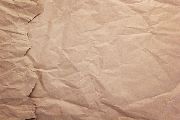 Wrinkled or crumpled paper as background texture