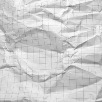 Wrinkled paper closeup