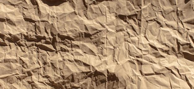 Текстура морщинистой бумаги или фон