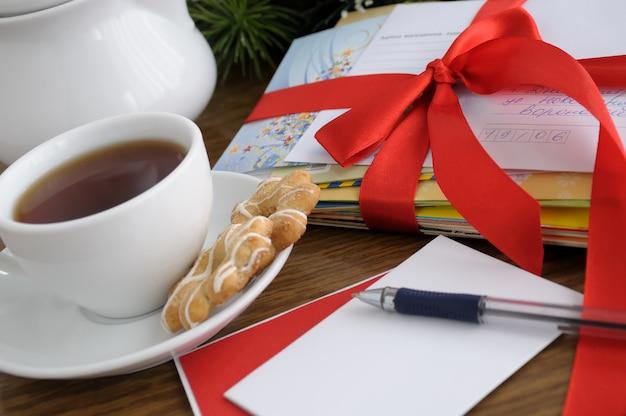 인사말을 작성하거나 휴가에 친구와 가족을 초대