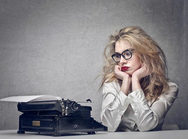 Writer in crisis