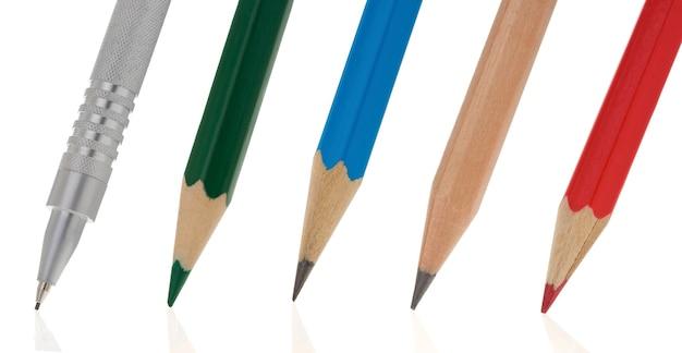 Написание карандашом изолированные