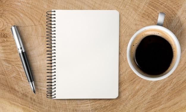 Написано в блокноте и чашке кофе