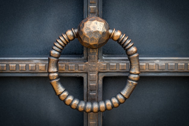 錬鉄製の門、装飾用の鍛造品。