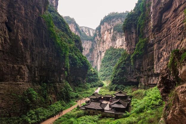 Wulong national park, chongqing, china