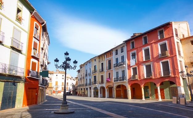 Xativa plaza mercat square in valencia