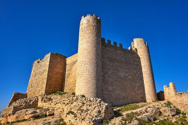 Xivert castle in alcala de chivert castellon