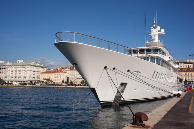 Yacht in trieste