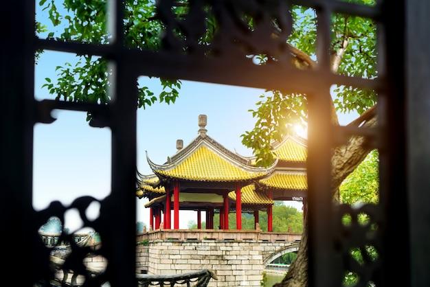 Yangzhou slender west lake wuting bridge