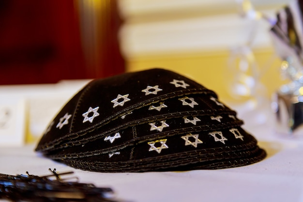 Ярмулке - традиционный еврейский головной убор, израиль.
