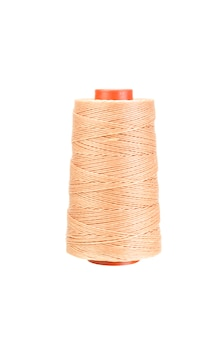 Yarn thread for crafts isolated with clipping path