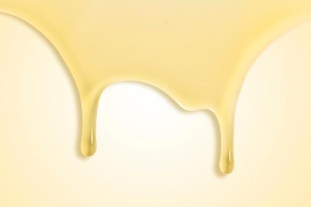 黄色の背景の壁紙滴る蜂蜜の境界線