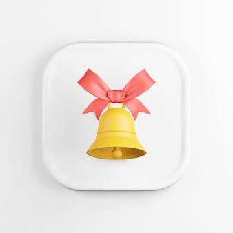 赤いリボンと黄色の鐘のアイコン