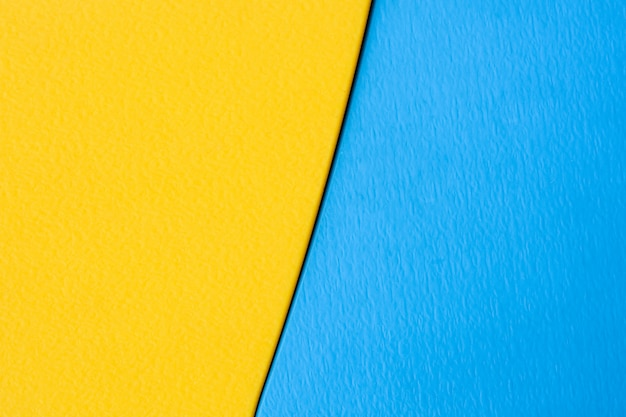 Yellow and blue plastic texture