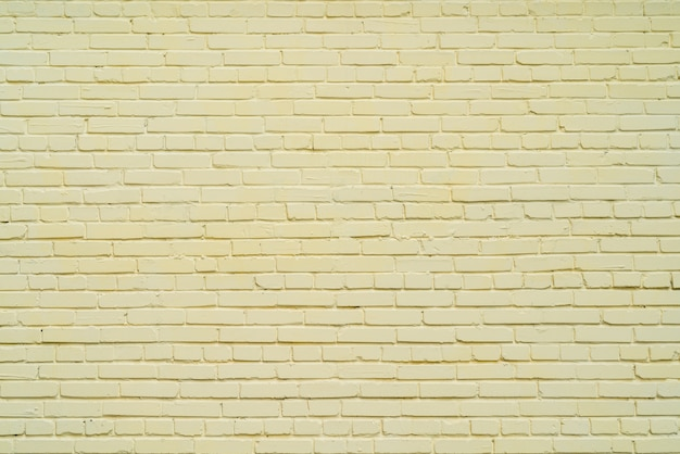 Yellow brick wall. abstract background.