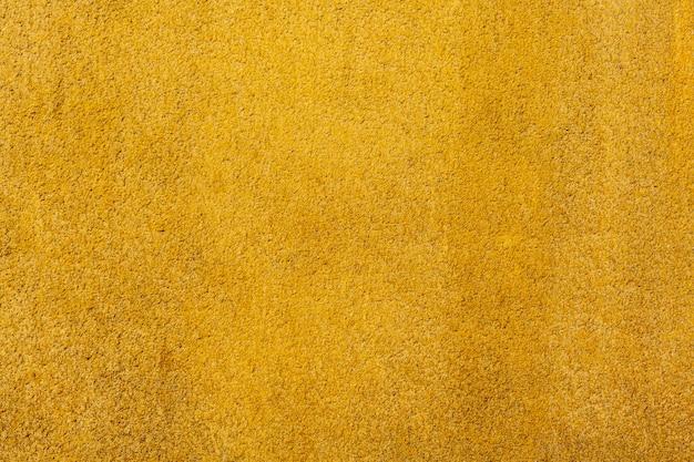 黄色のセメント表面