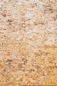 The yellow cork texture background