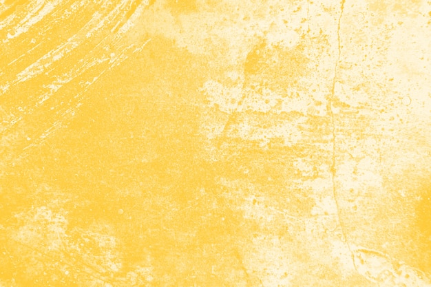 Yellow distressed wall texture background