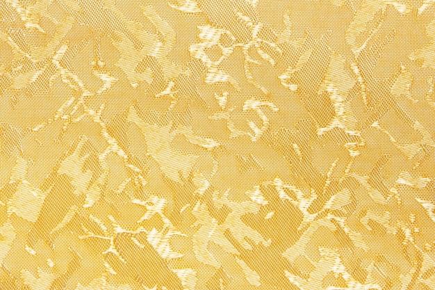 黄色い布のブラインドカーテンテクスチャの背景は、背景やカバーに使用できます