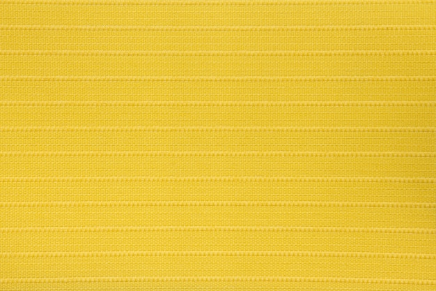 Yellow fabric blind curtain texture
