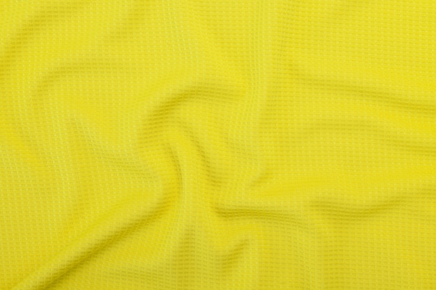 Yellow fabric texture, cloth pattern background