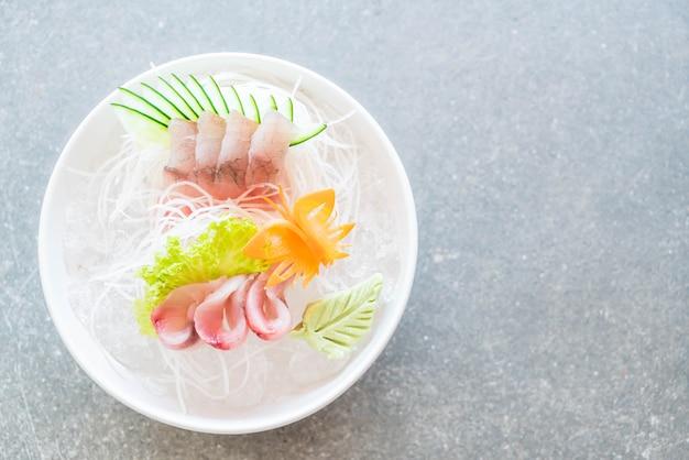 Сашими из желтого тунца