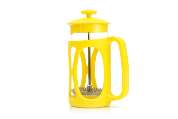 Yellow french press