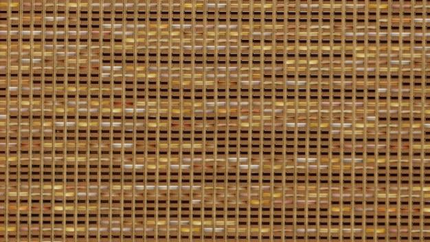 Желтое золото кирпичной стены абстрактные текстуры фона