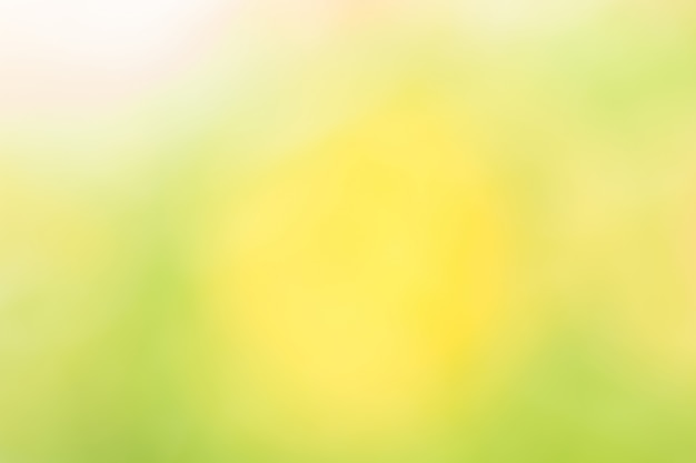 Yellow and green abstract natural background