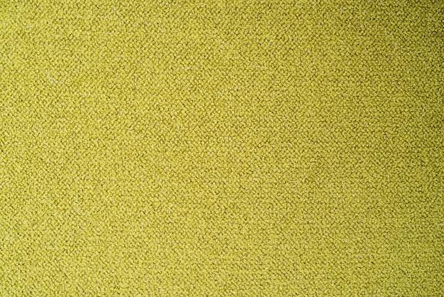 Yellow green fabric background