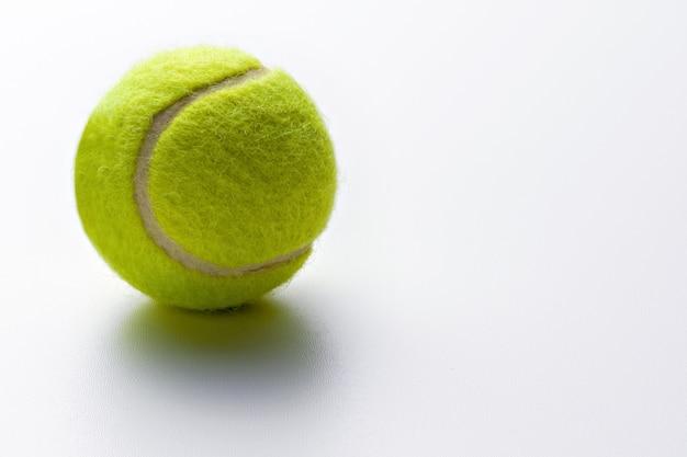 Yellow green tennis ball