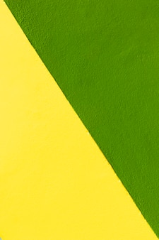 Yellow and green wall background
