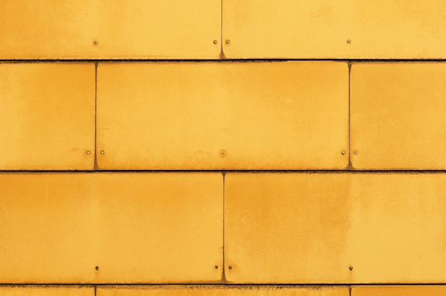 Yellow industrial panels texture