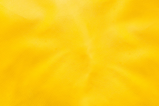 Yellow leather texture background surface