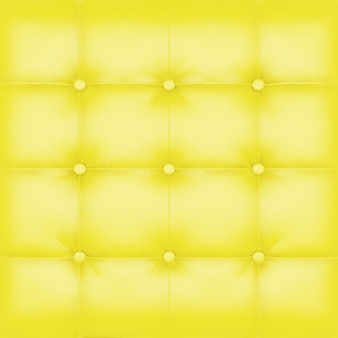 Yellow leather upholstery background